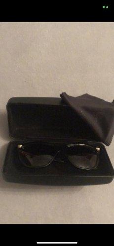 Versace Gafas de sol cuadradas negro-color oro