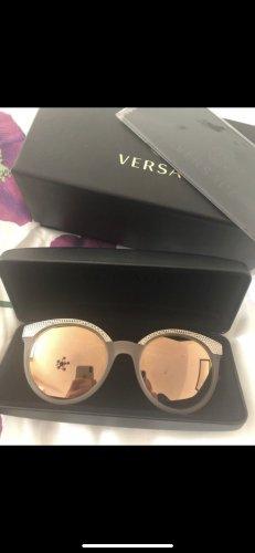Versace Gafas de sol redondas color oro