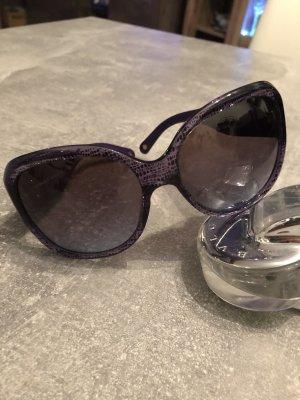 Versace Gafas de sol cuadradas violeta amarronado
