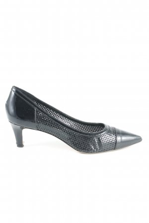Versace Spitz-Pumps schwarz Business-Look