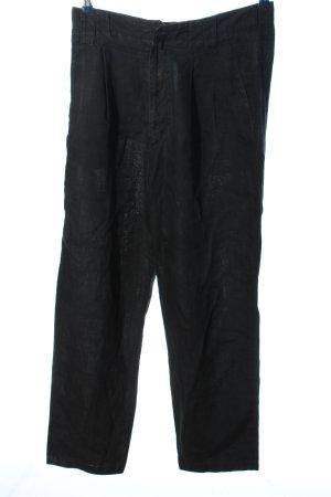 Versace Sport Baggy Pants schwarz Casual-Look