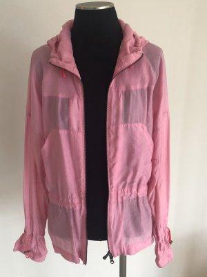 Versace Sport Chaqueta con capucha rosa