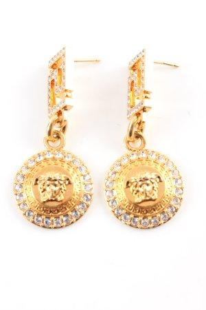 Versace Orecchino dichiarazione oro stile professionale