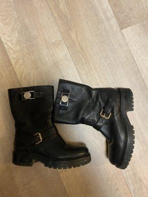 Versace Halfhoge laarzen zwart