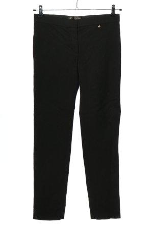 Versace Pantalon en jersey noir style décontracté