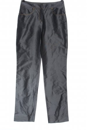 Versace Jersey Pants light grey weave pattern casual look