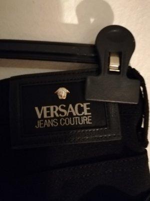 Versace Jeans Couture Vaquero elásticos negro