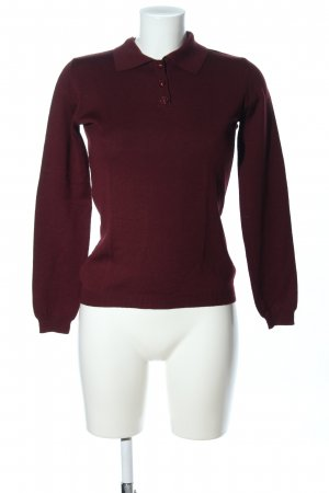 Versace Strickshirt rot Casual-Look