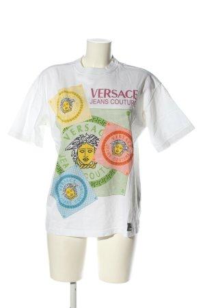 Versace T-Shirt Motivdruck Casual-Look