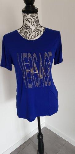versace T-Shirt in blau