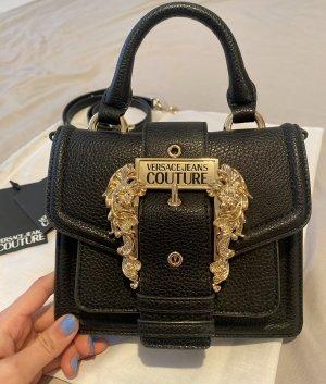 Versace Jeans Couture Bolso negro-naranja dorado