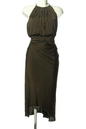 Versace Abendkleid khaki Elegant
