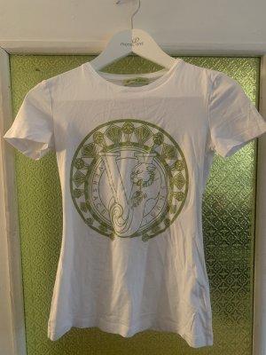 Versace Print Shirt white