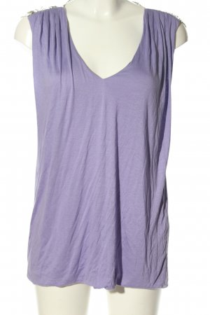 Versace Tunic Blouse lilac wet-look