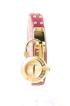 """Versace Uhr mit Lederarmband """"Medusa Lock Icon"""""""