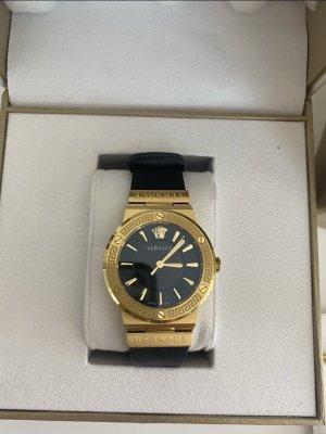 Versace Uhr Schwarz/Gold