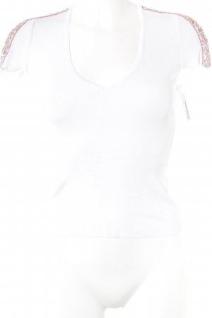 Versace V-Ausschnitt-Shirt mehrfarbig Elegant