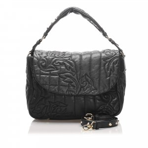 Versace Vanitas Leather Handbag