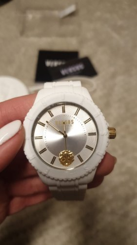 VERSUS Versace Self-Winding Watch white-gold-colored