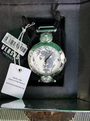 VERSUS Versace Horloge met metalen riempje zilver