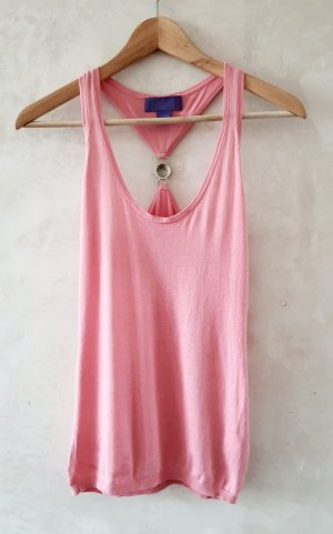 Versace for H&M Silk Top pink