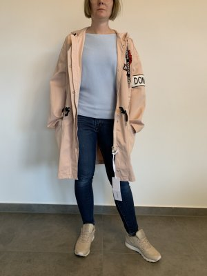 Versand inklusive / Aktueller moderner Übergang Mantel Jacke Parka von Dondup Gr. 40 rosa