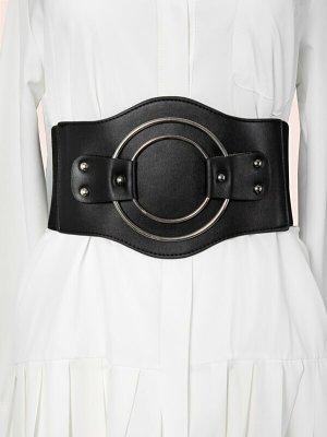 keine Marke Waist Belt black