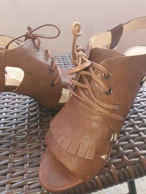 Bronx Sandaletto con tacco alto marrone