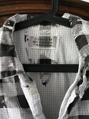 ‼️ VERSANDKOSTENFREI ‼️ MAISON MARGIELA PARIS - Kollektion 10 - Stylisches Hemd  als oversized Bluse