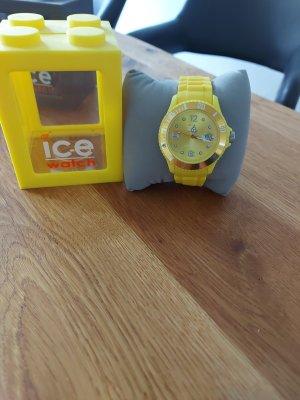 Ice watch Montre avec bracelet métallique jaune