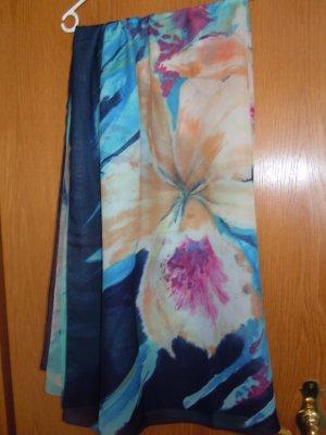 Ręcznik plażowy chabrowy-jasny różowy Poliester