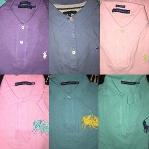 Verschiedene Polo-Shirts (Ralph Lauren, Tommy Hilfiger)