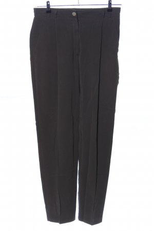 Verse Bundfaltenhose schwarz Business-Look