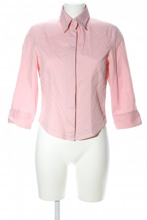 Verse Langarm-Bluse pink Business-Look