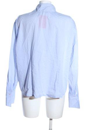Verse Langarm-Bluse blau Casual-Look