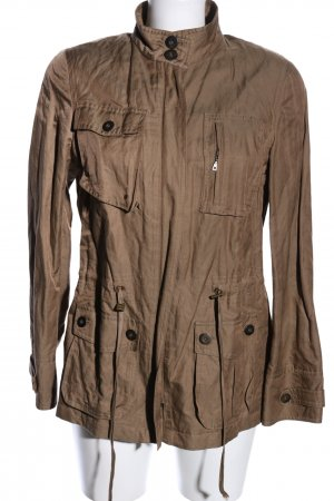Verse Safari Jacket brown casual look