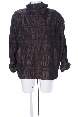Verse Shirtjacke braun Steppmuster Casual-Look