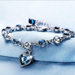 Silver Bracelet multicolored