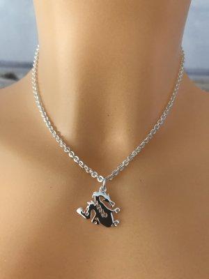 Avon Necklace silver-colored