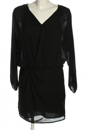 Version Originale Langarmkleid schwarz Elegant