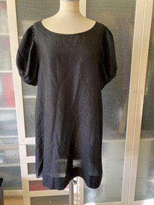 Version Originale Sukienka z rękawem balonowym czarny Jedwab