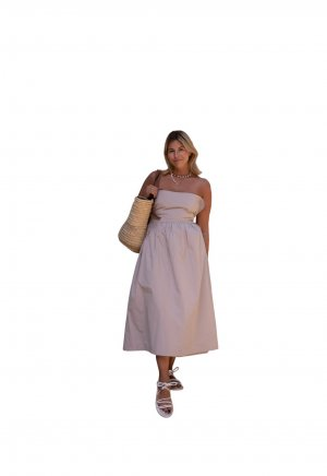 verso Wickelkleid creme Casual-Look