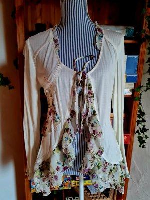 Joe Browns Giacca-camicia bianco-malva Viscosa