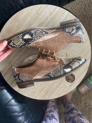 Ara Luftpolster Wingtip Shoes multicolored