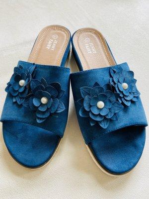 Jenny Fairy Scuffs blue-white