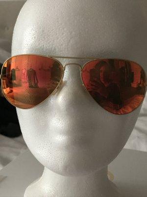Ray Ban Gafas color oro-rojo