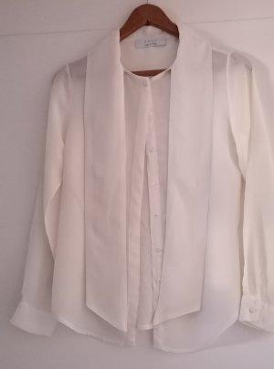Kaos Blusa in seta bianco sporco Seta