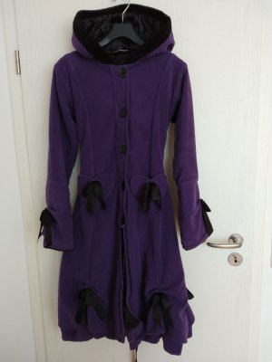 Poizen Industries Hooded Coat multicolored