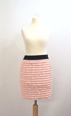 Tally Weijl Flounce Skirt black-pink