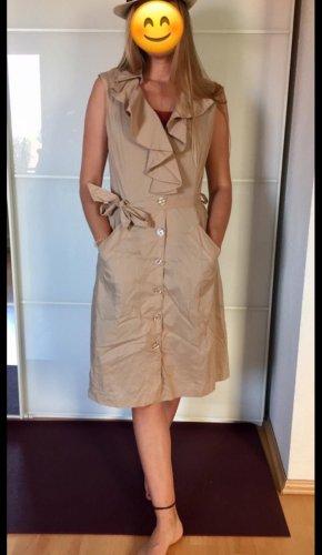 Apriori Sukienka z krótkim rękawem beżowy